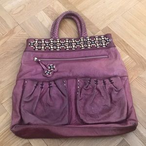 Isabella Fiore leather satchel.